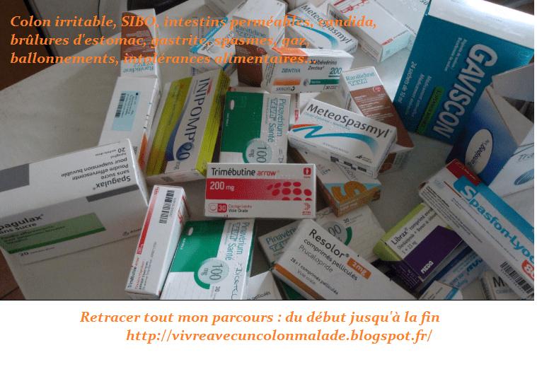 syndrôme du colon irritable, intestins perméables ,candida, brûlures d'estomac, SIBO, gastrite, spasmes, gaz, ballonnements, intolérances alimentaires