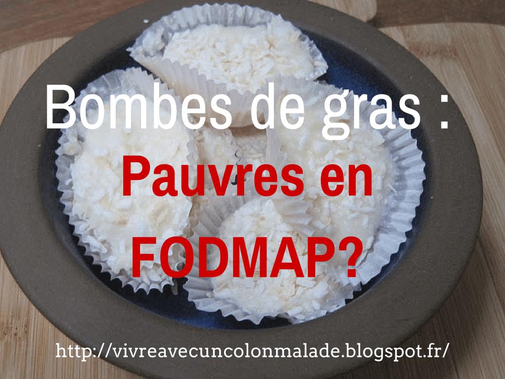 Read more about the article Les bombes de gras : sont-elles pauvres en FODMAP?