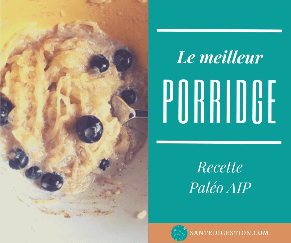 Read more about the article Le porridge Paléo AIP: recette pour votre petit-déjeuner