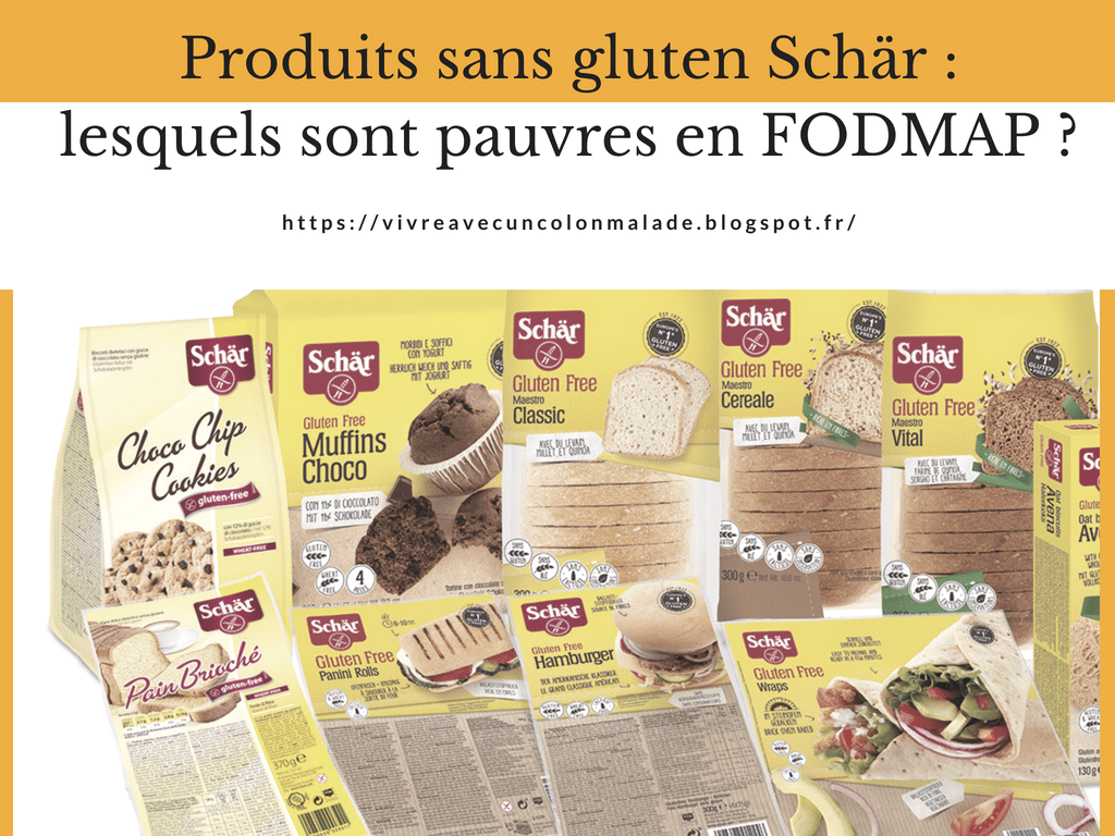Read more about the article Produits sans gluten Schär : lesquels sont pauvres en FODMAP ?