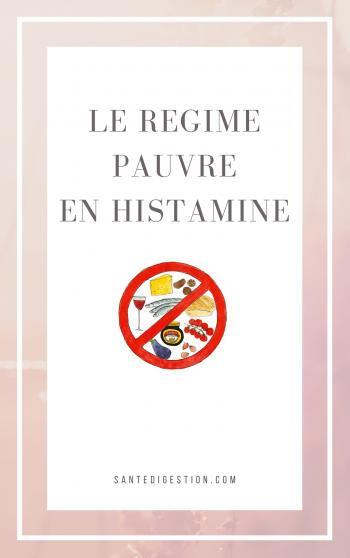 Le régime pauvre en histamine